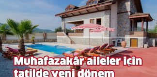 muhafazakar tatil villaları