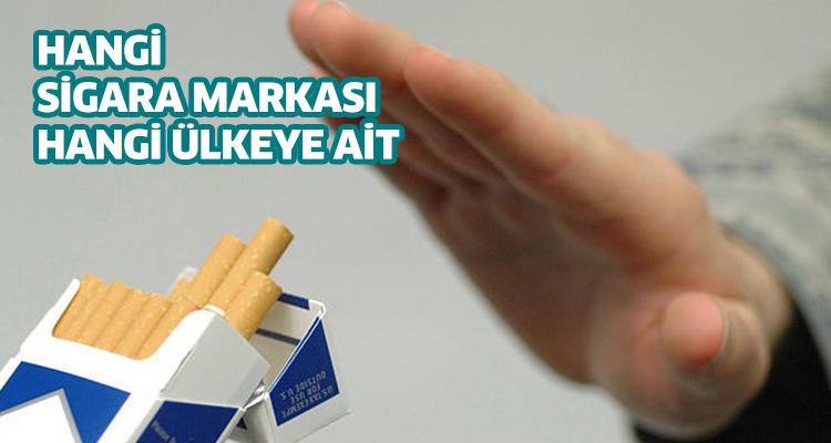 Hangi Sigara Markası Hangi ülkeye Ait