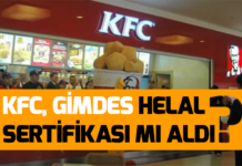 kfc-helal-sertifikası