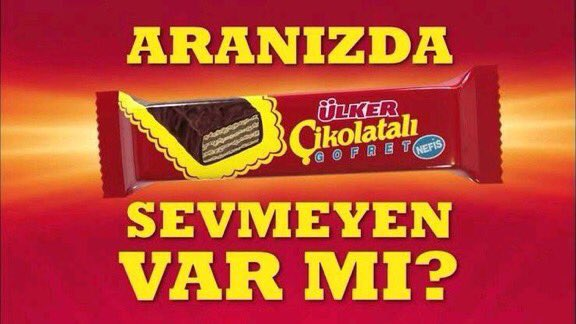 ulker cikolatali gofret reklam