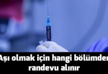 Aşı-olmak-için-hangi-bölümden-randevu-alınır