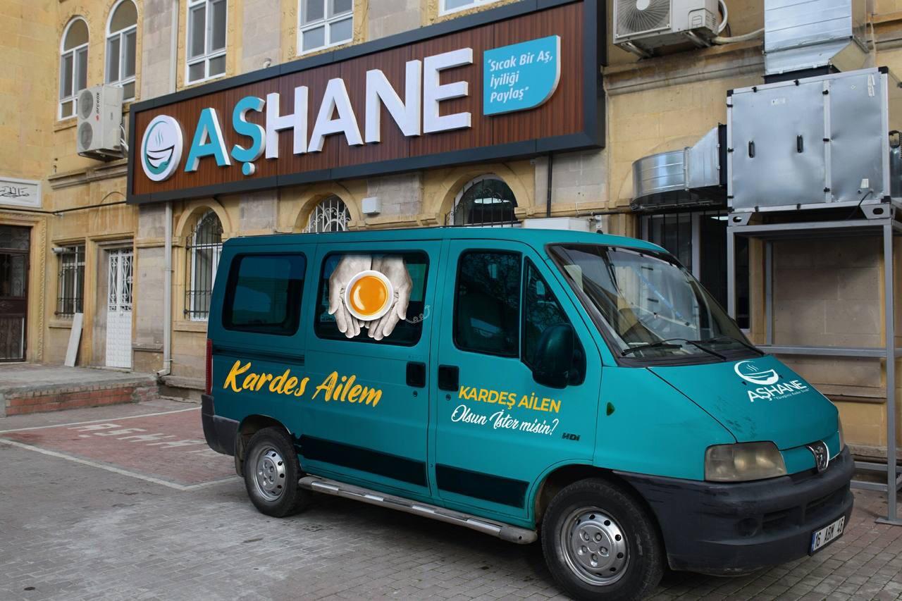 Aşhane Aşevi Derneği Bursa'ya umut oluyor